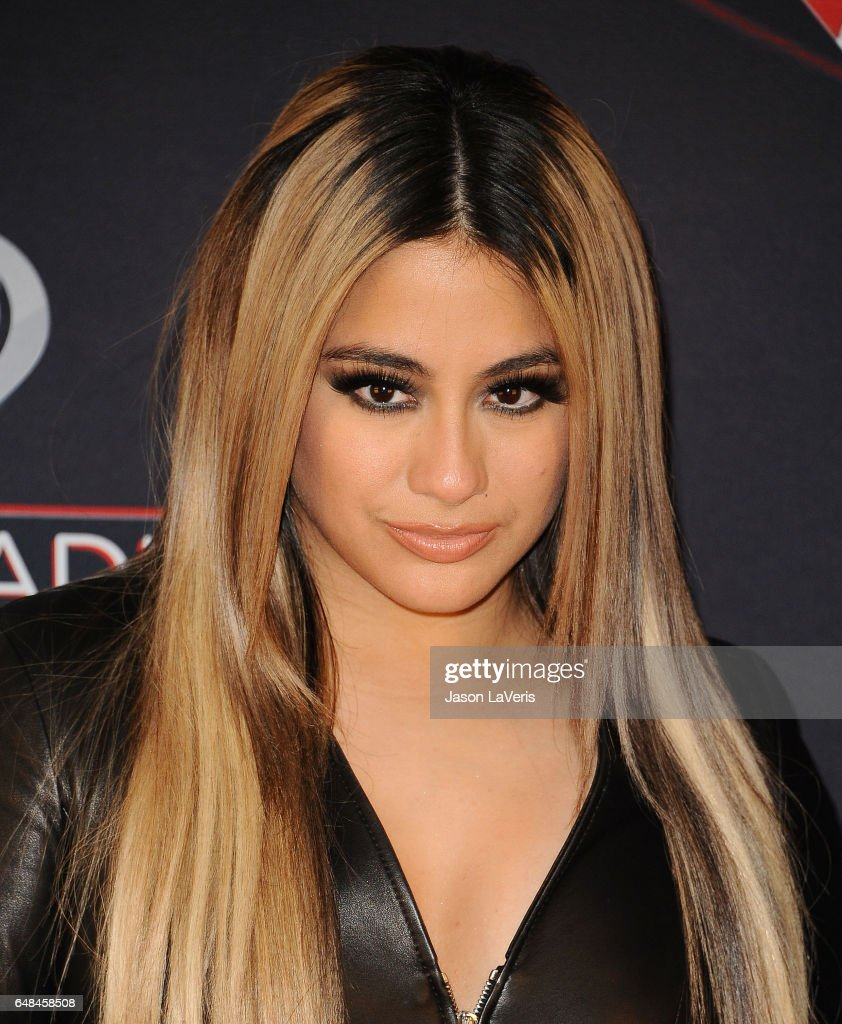 Ally Brooke of Fifth Harmony poses in the press room at the 2017 iHeartRadio Music Awards at The Forum on March 5, 2017 in Inglewood, California.