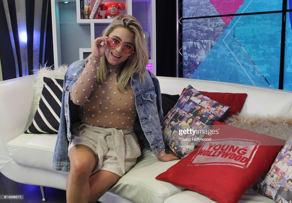 Ally Brooke visits the Young Hollywood Studio on July 13, 2017 in Los Angeles, California.