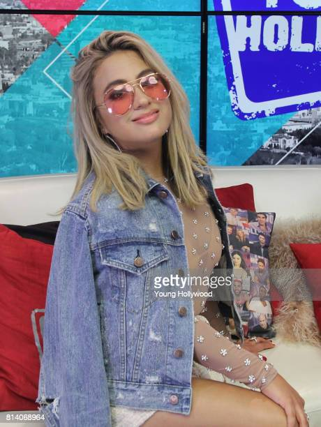 Ally Brooke visits the Young Hollywood Studio on July 13 2017 in Los Angeles California