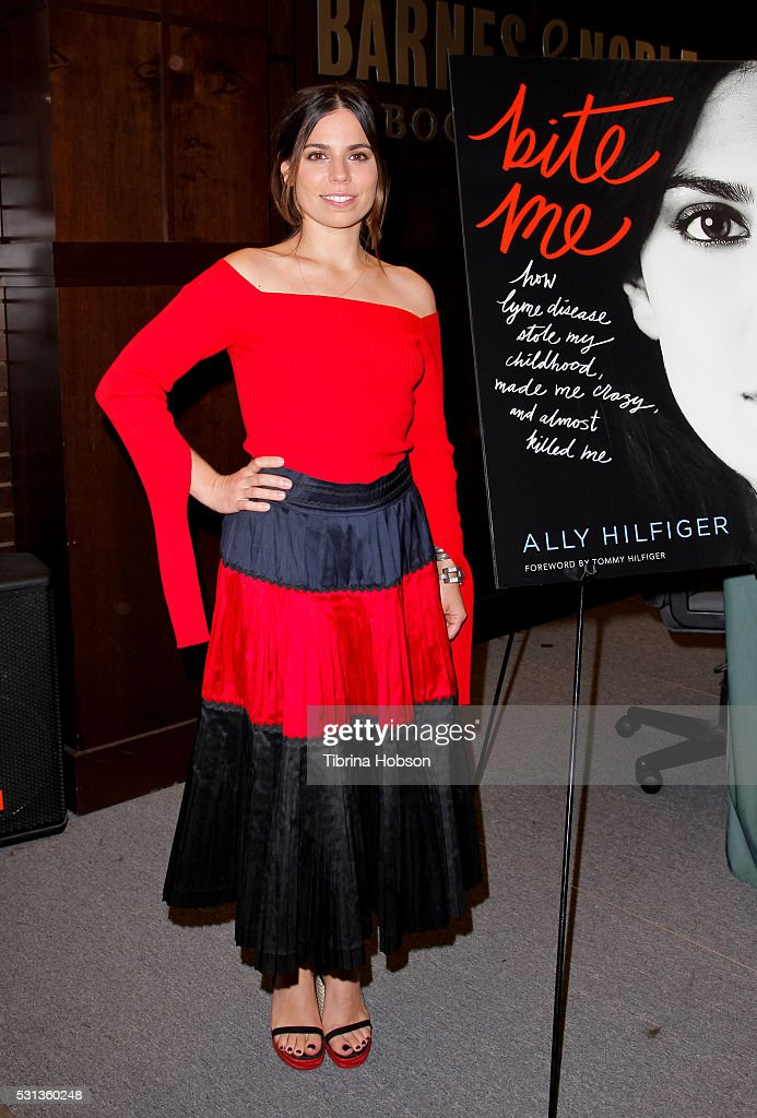 """Ally Hilfiger Book Signing For """"Bite Me: How Lyme Disease Stole My Childhood, Made Me Crazy, And Almost Killed Me"""""""