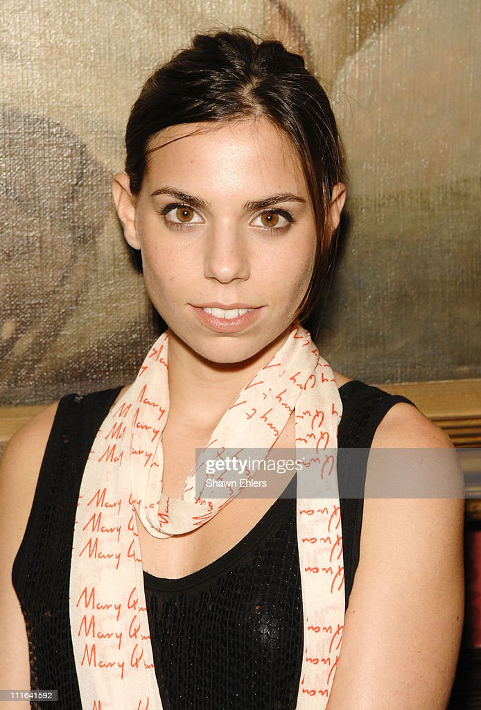 Ally Hilfiger attends The Supper Club New York Launch Party on October 23, 2007 at The National Arts Club in New York City.