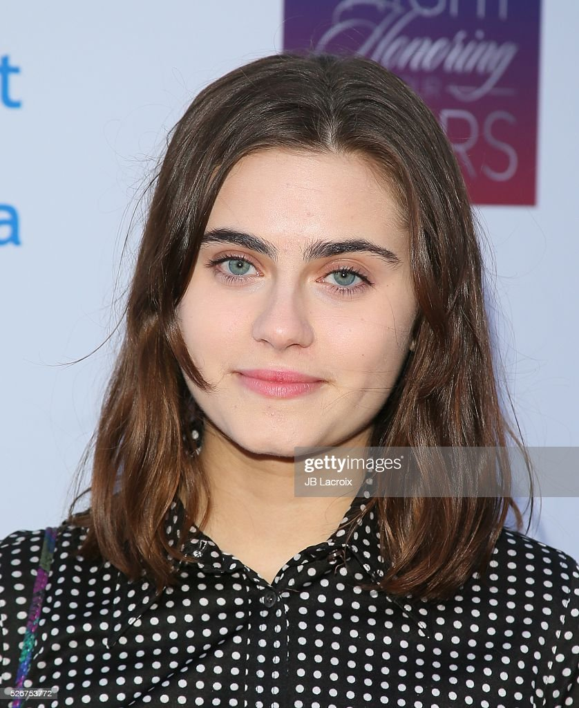 Ally Loannides attends Covenant House Of California's Annual Fundraising Gala, A Night Honoring Our Stars at The Globe Theatre at Universal Studios on April 30, 2016 in Universal City, California.