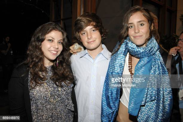 Ally Zarin Noel de Lesseps and Victoria de Lesseps attend Special Preview Screening of 'A PASSION FOR GIVING' by ROBIN BAKER LEACOCK at Ross School...