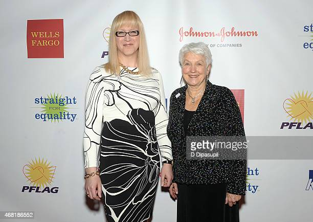 Allyson Dylan Robinson and National PFLAG President Jean Hodges attend the 7th Annual PFLAG National Straight For Equality Awards Gala at The New...