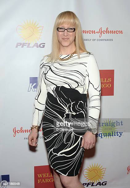 Allyson Dylan Robinson attends the 7th Annual PFLAG National Straight For Equality Awards Gala at The New York Marriott Marquis on March 30 2015 in...
