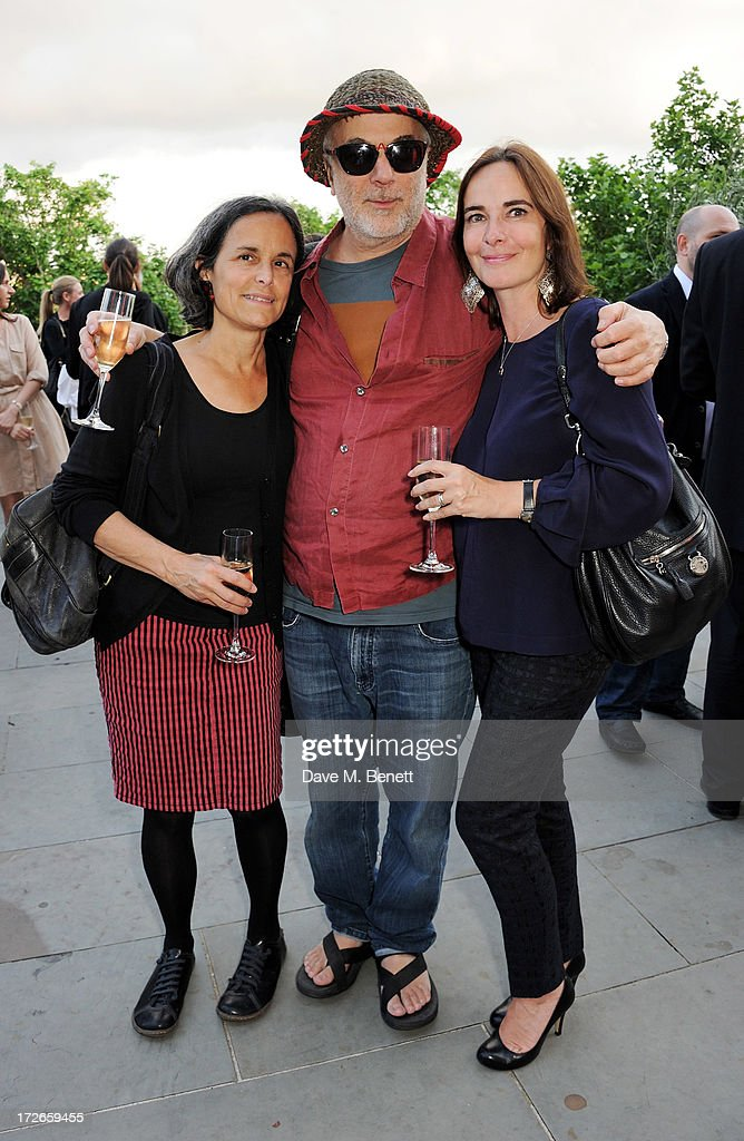 Alma Arad, Ron Arad and guest attend the private view of 'elBulli: Ferran Adria and The Art of Food' at Somerset House on July 4, 2013 in London, England. The exhibition, in partnership with Estrella Damm, opens on July 5th and runs until September 29th 2013.