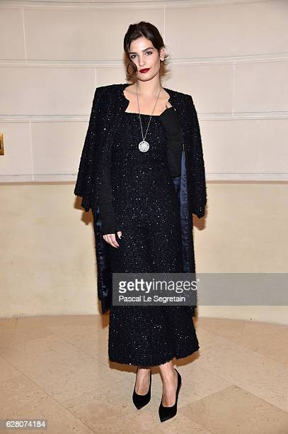 Alma Jodorowsky attends 'Chanel Collection des Metiers d'Art 2016/17 Paris Cosmopolite' Show on December 6 2016 in Paris France