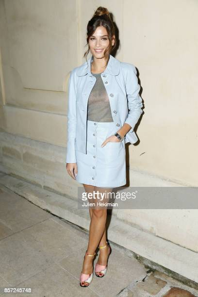 Alma Jodorowsky attends the Chanel 'Code Coco' Watch Launch Party as part of the Paris Fashion Week Womenswear Spring/Summer 2018 on October 3 2017...