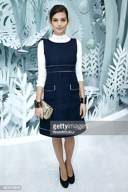 Alma Jodorowsky attends the Chanel show as part of Paris Fashion Week Haute Couture Spring/Summer 2015 on January 27 2015 in Paris France