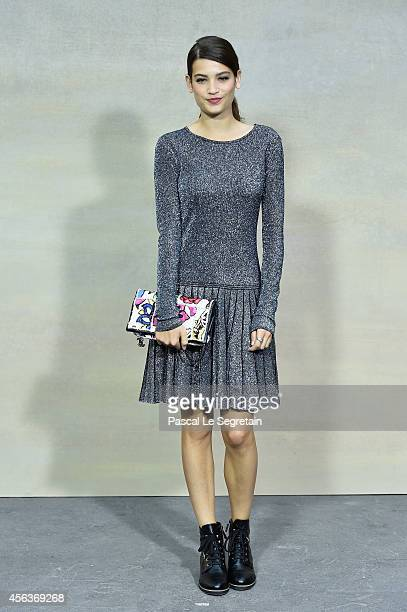 Alma Jodorowsky attends the Chanel show as part of the Paris Fashion Week Womenswear Spring/Summer 2015 on September 30 2014 in Paris France