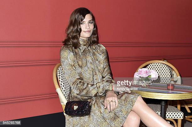 Alma Jodorowsky attends the Sonia Rykiel Lancome Paris Party as part of Paris Fashion Week on July 6 2016 in Paris France