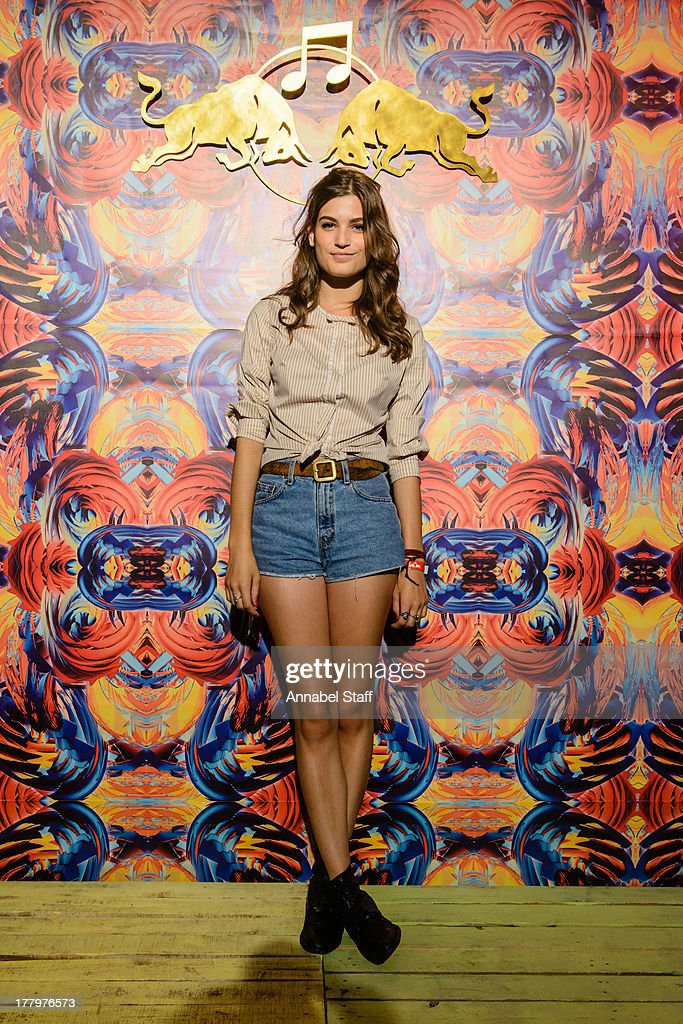 Alma Jodorowsky poses for a portrait at the Red Bull Music Academy Sound System at Notting Hill Carnival at Notting Hill on August 26, 2013 in London, England.