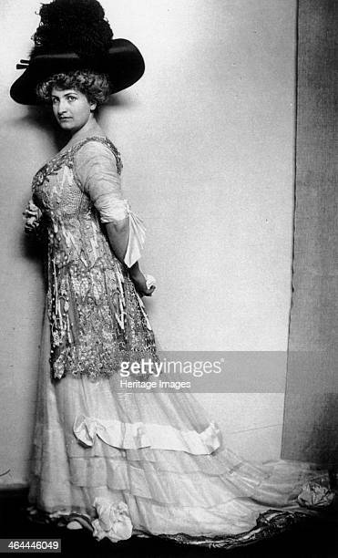 Alma Mahler Austrian socialite and composer c1908 Alma Schindler was the wife successively of the composer Gustav Mahler architect Walter Gropius and...