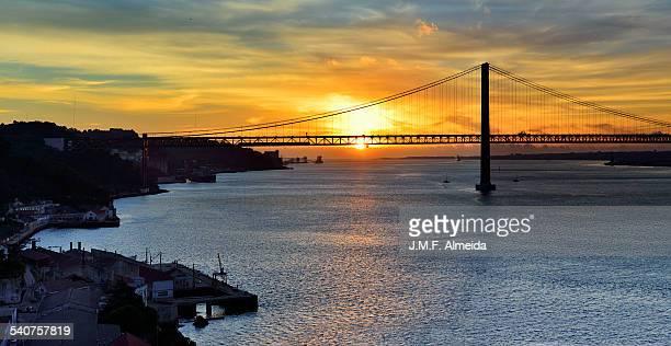 Almada sunset