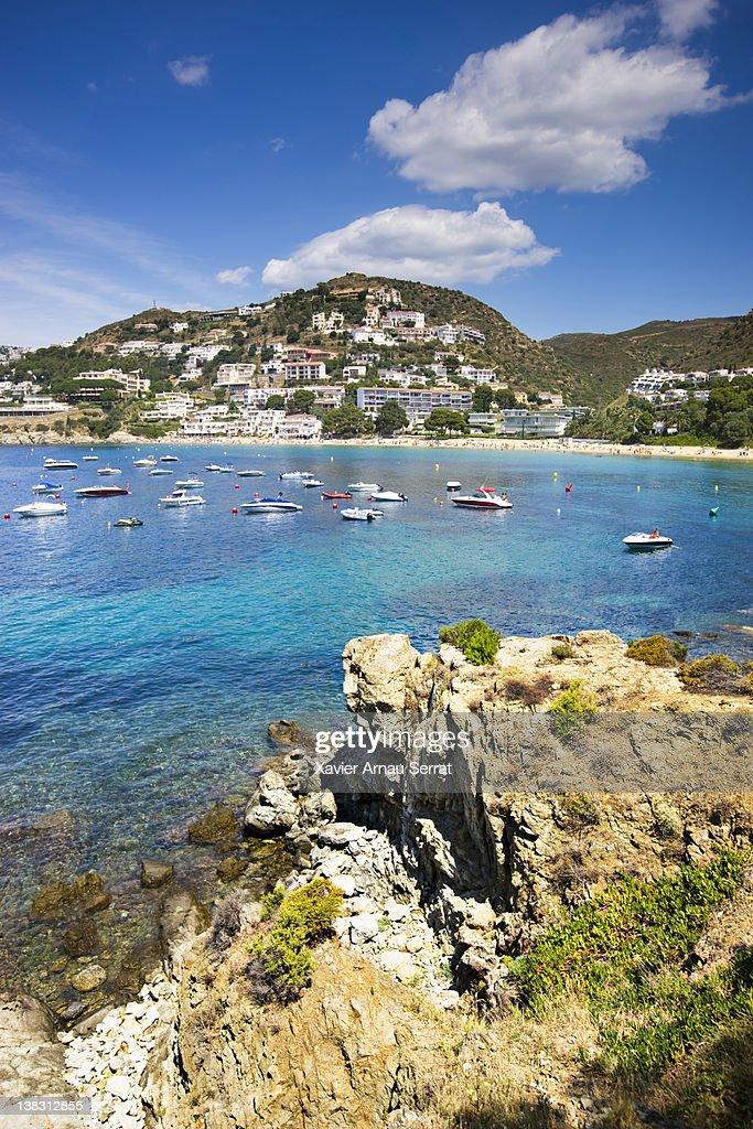 Almadrava beach : Stock Photo