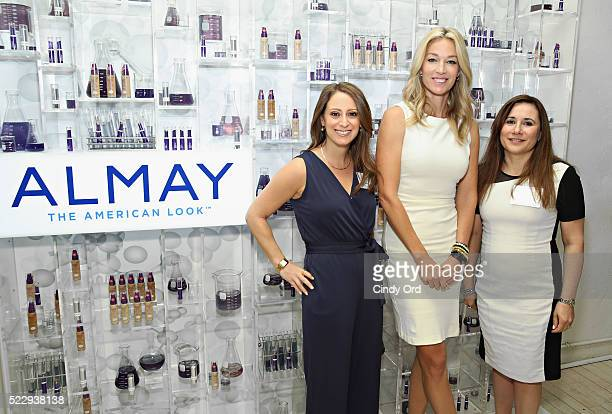 Almay Vice President Jill Krakowski Elaine Irwin face of Almay Age Essentials Collection and Vice President of Research and Development for Almay...