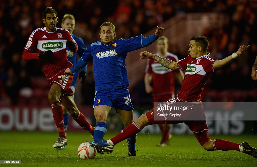 Middlesbrough v Watford - npower Championship