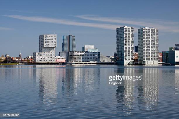 Almere, The Netherlands Skyline
