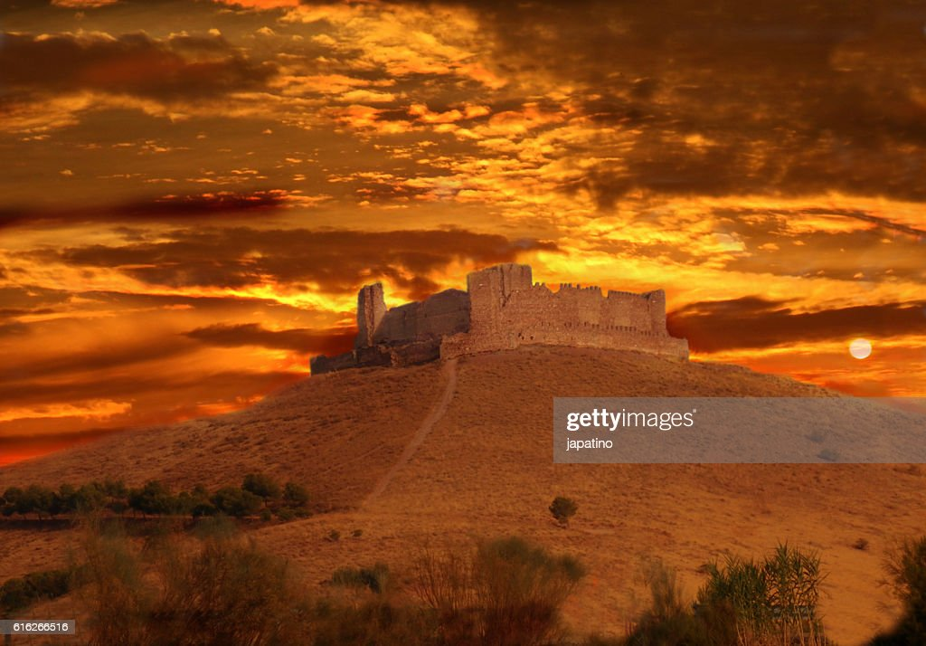 Almonacid Castle : Stock Photo