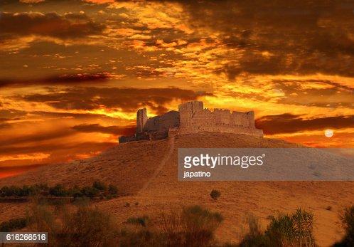 Almonacid Castle : Stock Photo