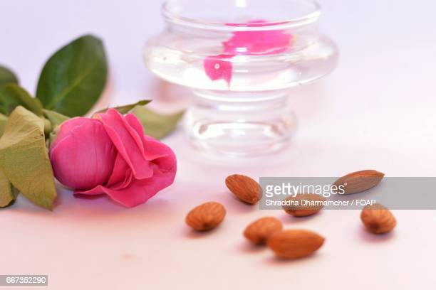 Almond and beauty products