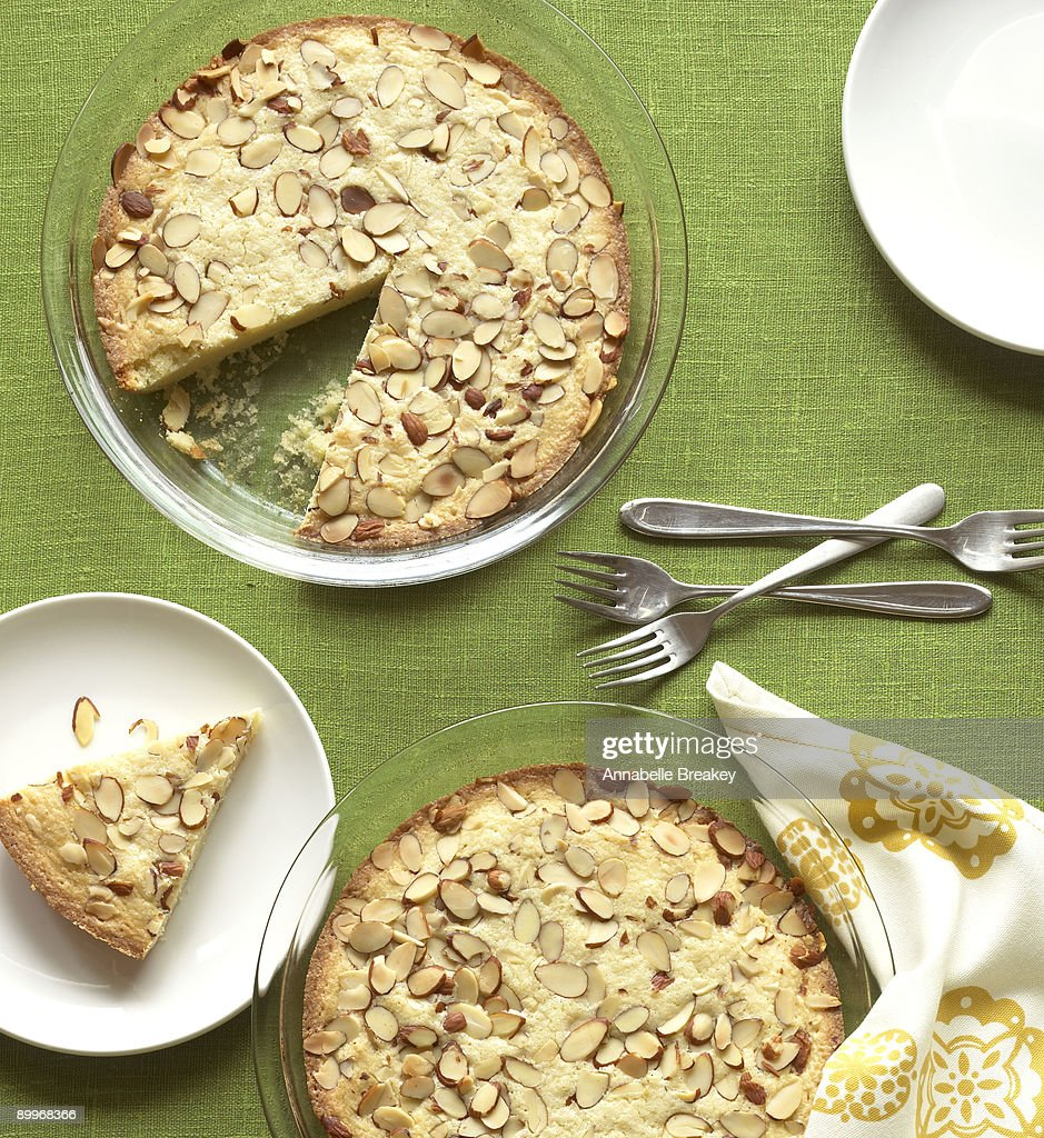 Almond Cake : Stock Photo