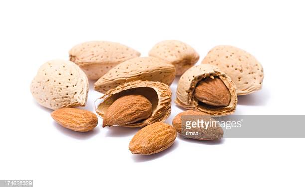 Almonds in their shells