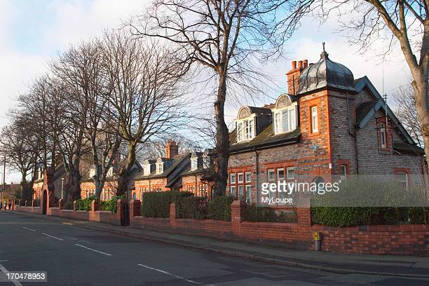 Alms Houses in Heaton Moor Stockport Built in 1907 by Ainsworth Homes