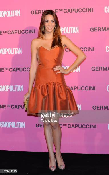 Almudena Cid arrives to the 'Fun Fearless Female Cosmopolitan Awards 2009' ceremony held at the Ritz Hotel on November 10 2009 in Madrid Spain