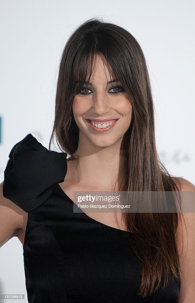 Almudena Cid attends Basque Country Tourism Campaign Presentation at Cibeles Palace on January 17, 2012 in Madrid, Spain.