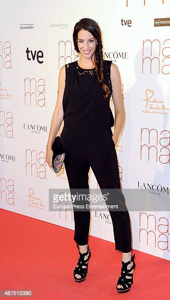 Almudena Cid attends 'Ma ma' charity premiere on September 9 2015 in Madrid Spain