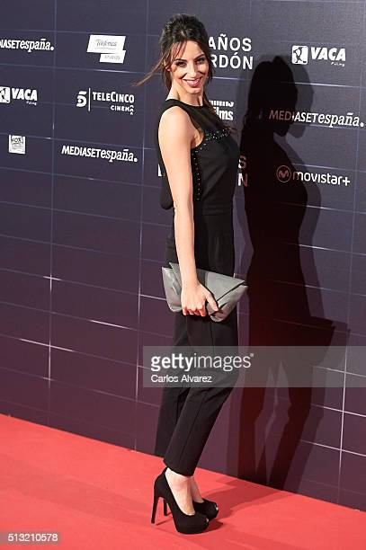 Almudena Cid attends the 'Cien Anos de Perdon' premiere at the Capitol cinema on March 1 2016 in Madrid Spain