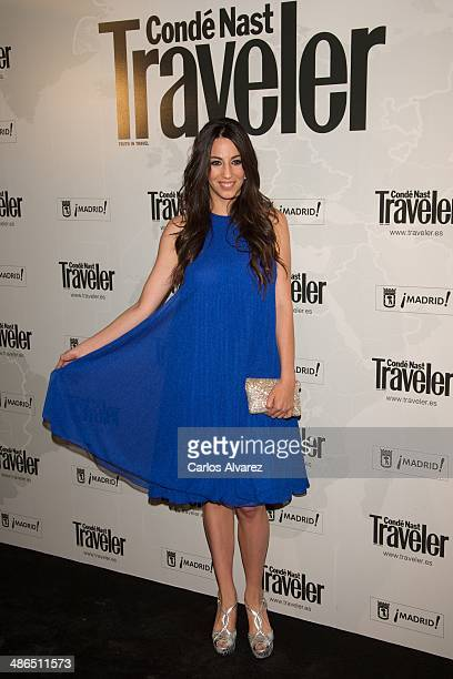 Almudena Cid attends the Conde Nast Traveler Awards 2014 at the at Jardines de Cecilio Rodriguez on April 24 2014 in Madrid Spain