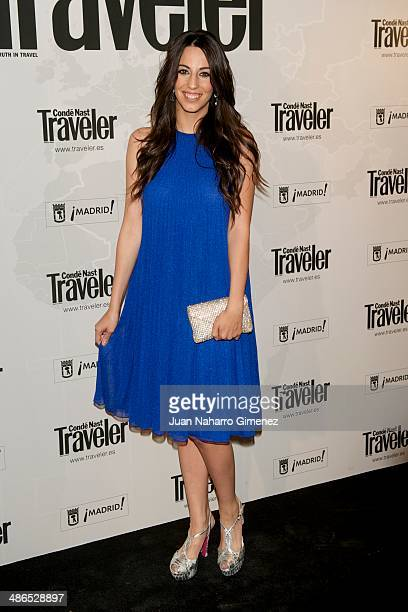 Almudena Cid attends the Conde Nast Traveler Awards 2014 at the Jardines de Cecilio Rodriguez on April 24 2014 in Madrid Spain