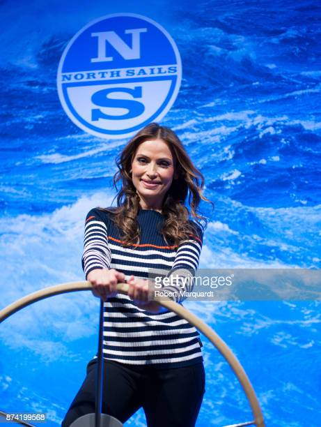 Almudena Fernandez attends the 60th Anniversary 'North Sails Barcelona' party on November 14 2017 in Barcelona Spain