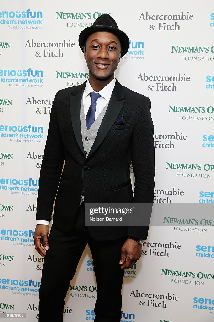 Aloe Blacc attends SeriousFun Children's Network 2015 New York Gala: An Evening of SeriousFun Celebrating the Legacy of Paul Newman at Avery Fisher Hall at Lincoln Center for the Performing Arts on March 2, 2015 in New York City.