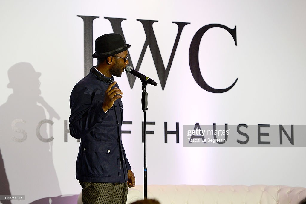 <a gi-track='captionPersonalityLinkClicked' href=/galleries/search?phrase=Aloe+Blacc&family=editorial&specificpeople=4340598 ng-click='$event.stopPropagation()'>Aloe Blacc</a> performs at the exclusive 'For The Love Of Cinema' event hosted by Swiss luxury watch manufacturer IWC Schaffhausen at the famous Hotel du Cap-Eden-Roc on May 19, 2013 in Antibes, France.