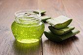 Aloe vera juice, gel, moisturising cream, soap and powder powder