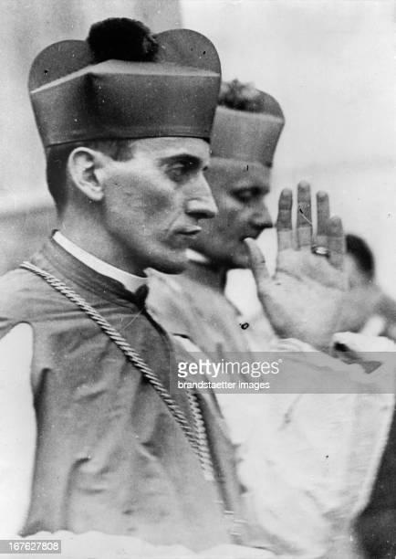 Alojzije Stepinac wurde in Zagreb zum Erzbischof gewählt Photographie Um 1937