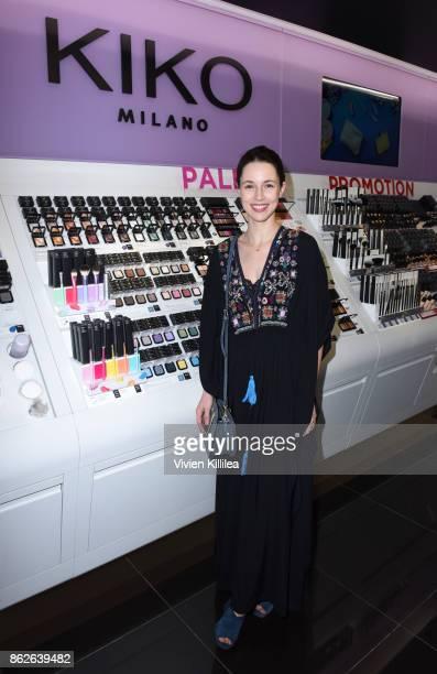 Alona Tal attends Louise Roe For Kiko Milano At Kiko Milano Hollywood Venue on October 14 2017 in Hollywood California