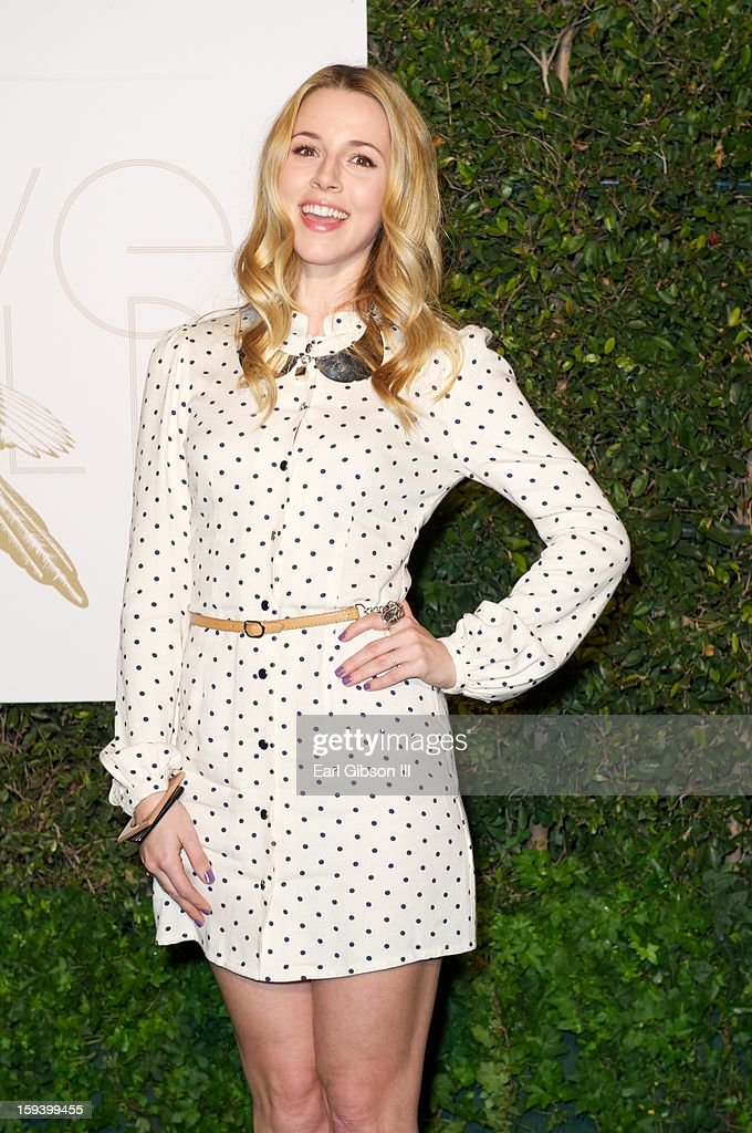 Alona Tal attends the LoveGold party at Chateau Marmont on January 12, 2013 in Los Angeles, California.