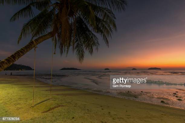 Alone in the beach