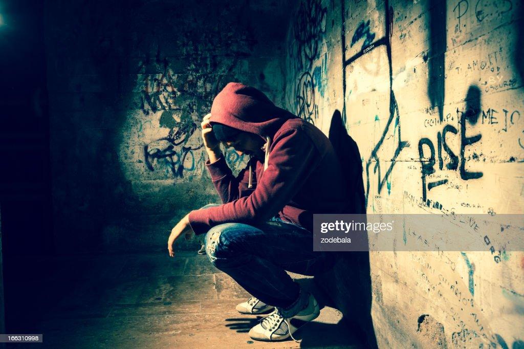 Alone in the Dark : Stock Photo