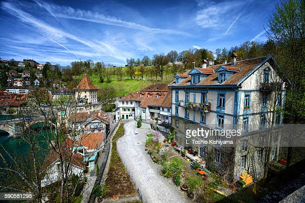 Along the River Aare in Bern, Switzerland
