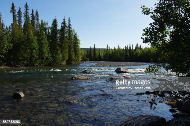 Along the Tarraätno river