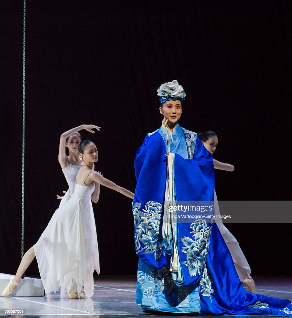 Along with the National Ballet of China ensemble Chinese Kunqu Opera singer Yu Xuejiao performs in the American premiere of the Ballet's production...