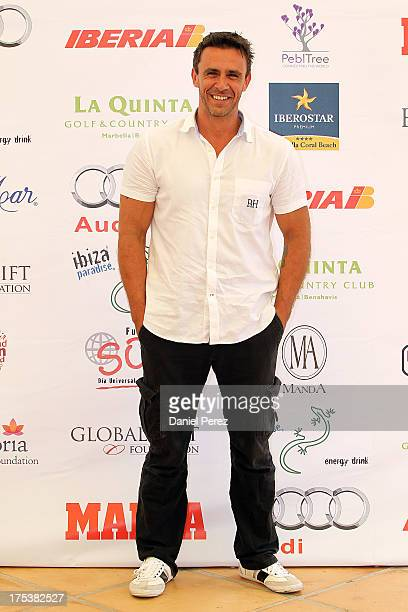 Alonso Caparros attends the Global Gift Celebrity Golf Tournament to help raise money for The Eva Longoria Foundation and Fundacion SOS at La Quinta...