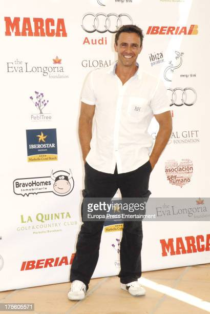 Alonso Caparros attends the Global Gift Gala Golf Tournament on August 3 2013 in Marbella Spain