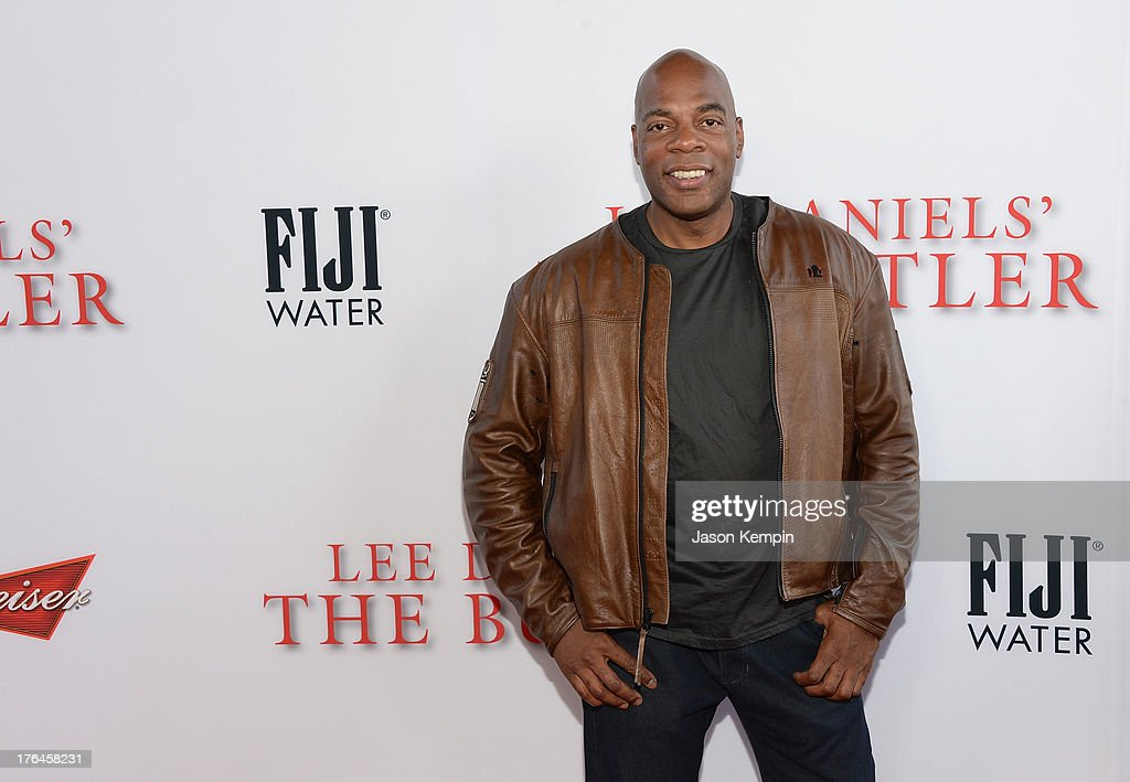 Alonzo Bodden attends the Los Angeles premiere of 'Lee Daniels' The Butler' at Regal Cinemas L.A. Live on August 12, 2013 in Los Angeles, California.