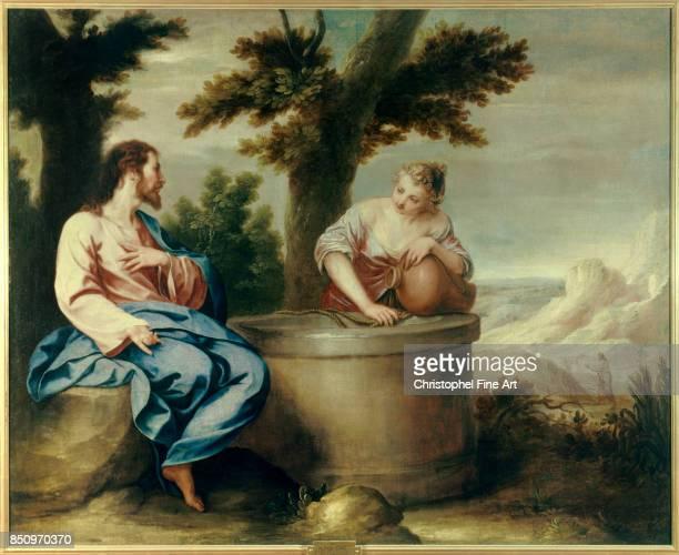 Alonzo Cano Christ and the Samaritan Woman Madrid Real Academia de Bellas Artes de San Fernando